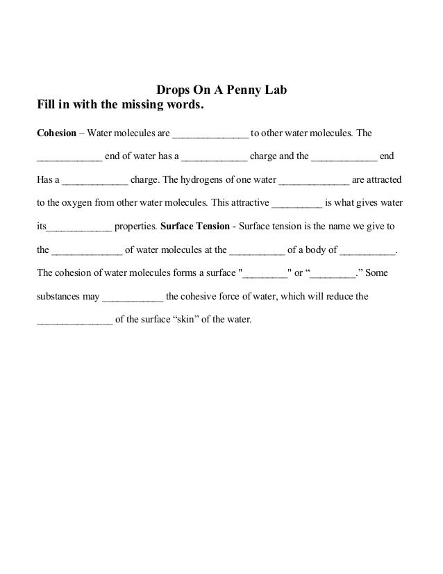 composition of a penny lab report