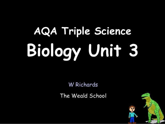 biology unit 3 Over 10,000 words of biology greatness these notes cover all of unit 3 content, every bit of it in great detail and includes diagrams and images at the end of all topics to summarise what has been explained.