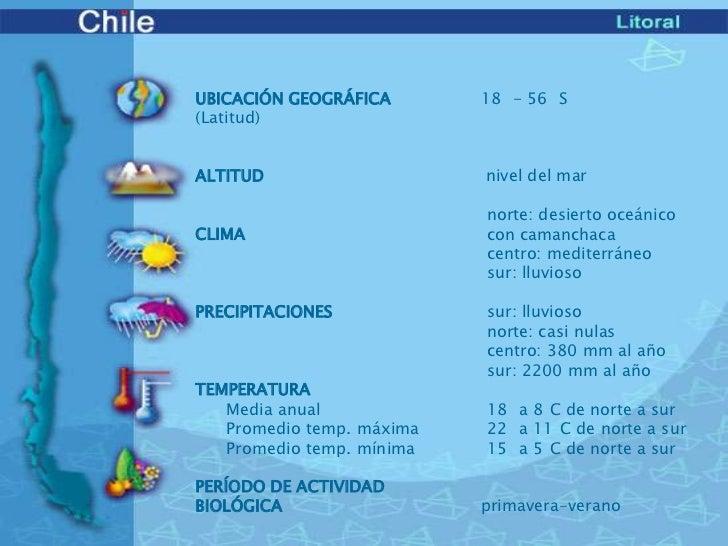 Bioma de chile litoral for Marmoles y granitos zona norte