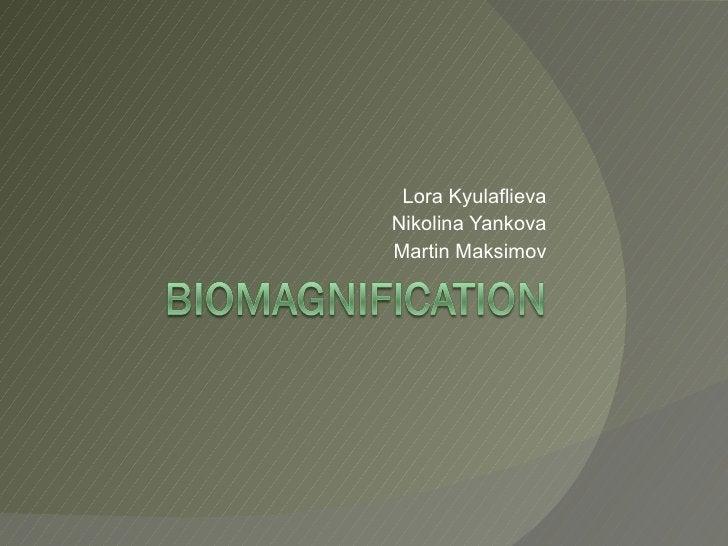Lora Kyulaflieva Nikolina Yankova Martin Maksimov