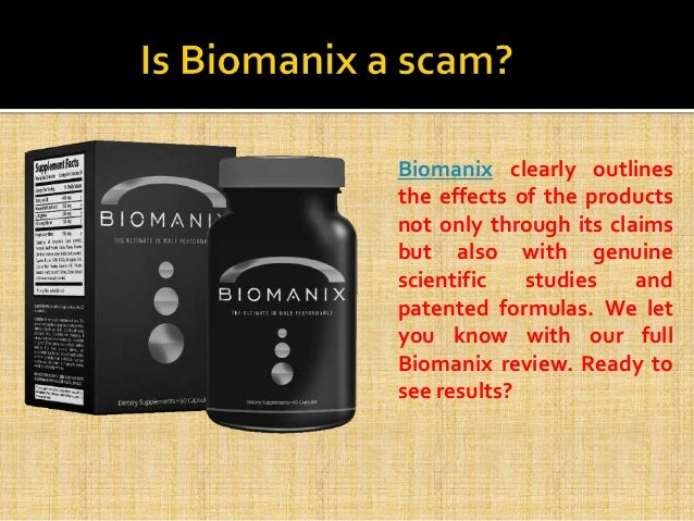 biomanix male enhancement supplements