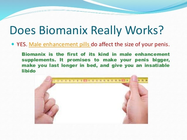 biomanix natural male enchantment pills