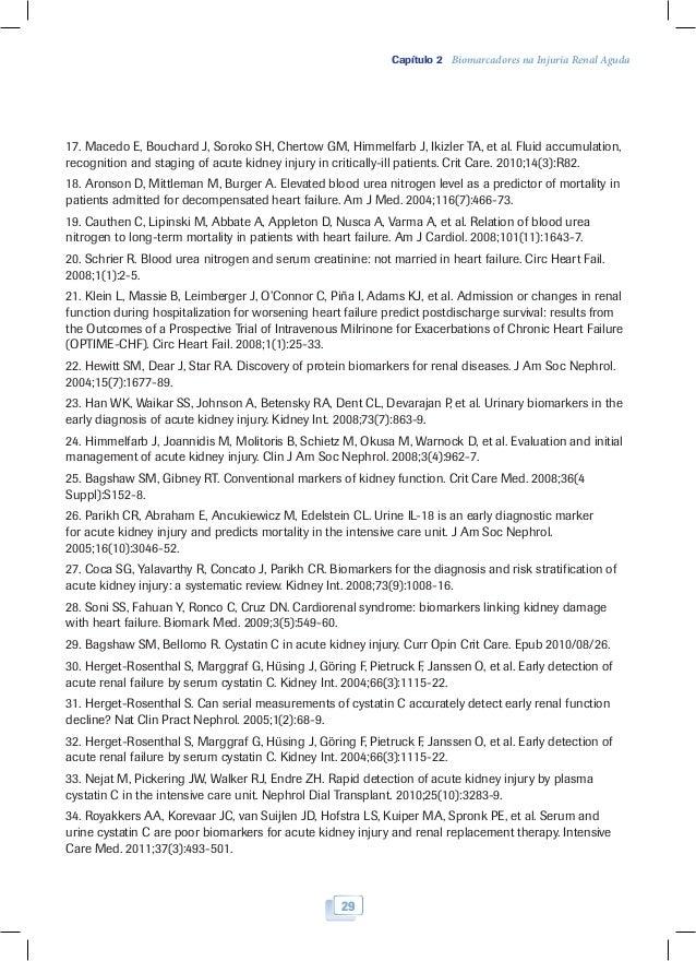 Biomarcadores na nefrologia e book 30 31 captulo 2 biomarcadores fandeluxe Image collections