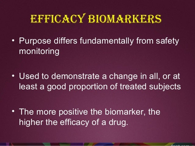 Predictive biomarkers • Stratify patient populations into responders and non-responders • Predict whether or not a drug wi...