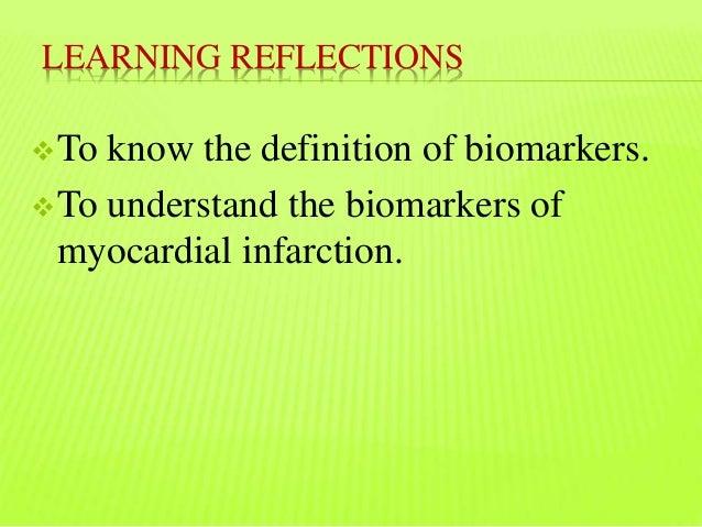 Cardiac Biomarkers -Myocardial Infarction (MI) Slide 3