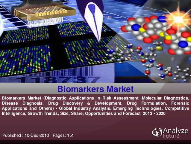 Biomarkers Market (Diagnostic Applications in Risk Assessment, Molecular Diagnostics, Disease Diagnosis, Drug Discovery & ...
