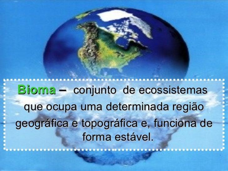 Biomas Slide 3