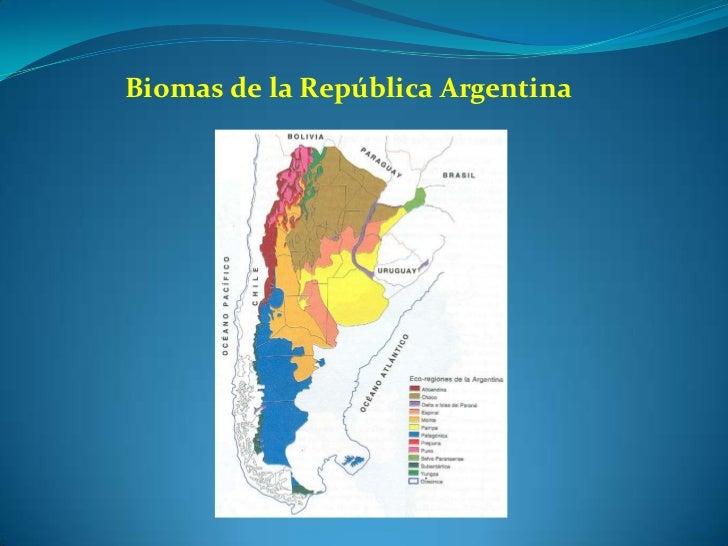Biomas de la República Argentina<br />