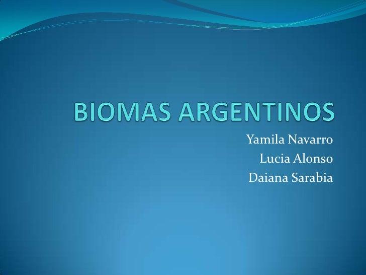 Yamila Navarro  Lucia AlonsoDaiana Sarabia