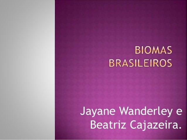Jayane Wanderley e  Beatriz Cajazeira.