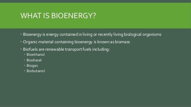 Biomass energy Slide 2