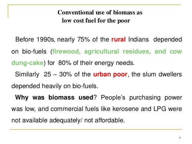 Biomass energy in India