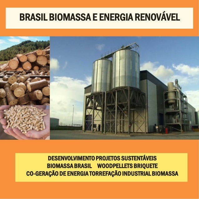 DESENVOLVIMENTOPROJETOS SUSTENTÁVEIS BIOMASSABRASIL WOODPELLETSBRIQUETE CO-GERAÇÃODE ENERGIATORREFAÇÃOINDUSTRIALBIOMASSA B...