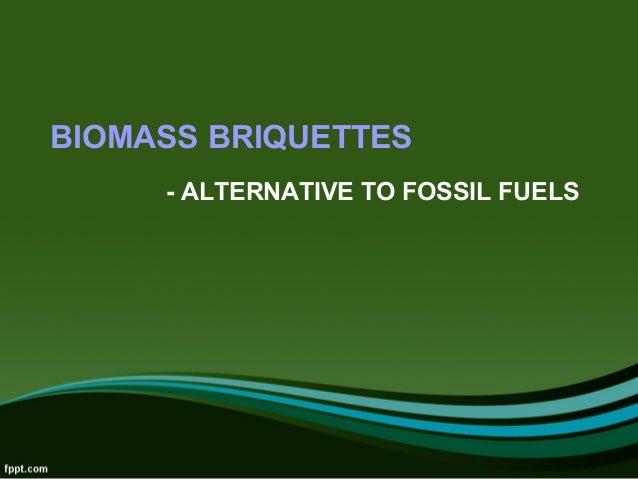 alternatives to fossil fuels pdf