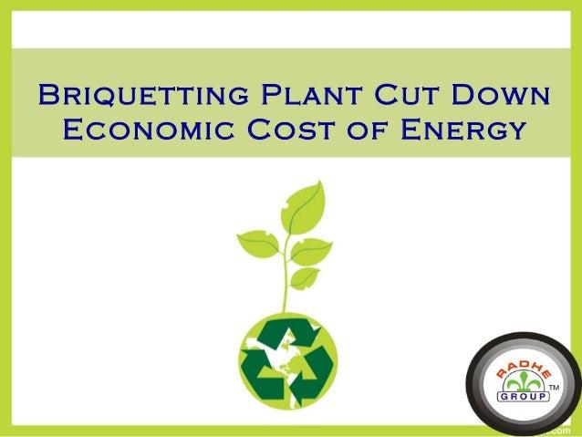 Briquetting Plant Cut Down Economic Cost of Energy