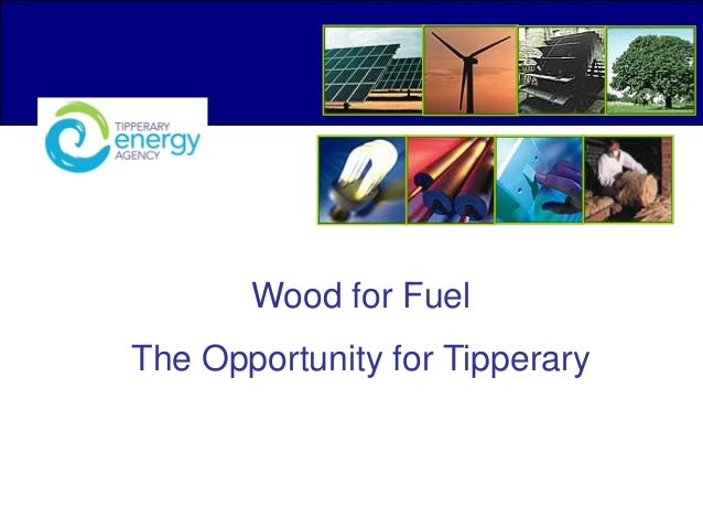 Wood for Fuel The Opportunity for Tipperary