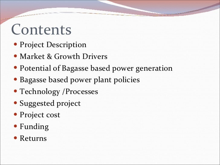 power plant business plan