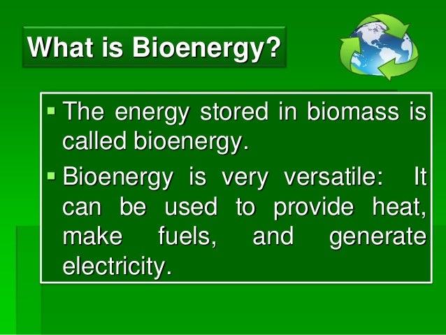 Biomass An Alternative Energy Source Ppt