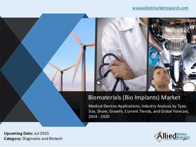v Biomaterials (Bio Implants) Market Medical Devices Applications, Industry Analysis by Type, Size, Share, Growth, Current...