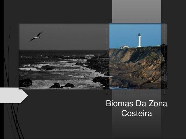 Biomas Da Zona Costeira