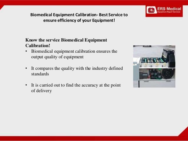 Calibration Of Medical Equipment Ppt