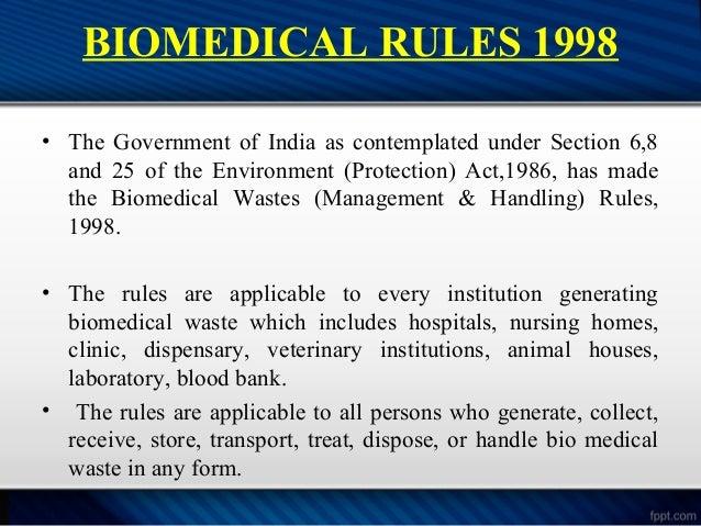biomedical waste disposal anantpreet singh