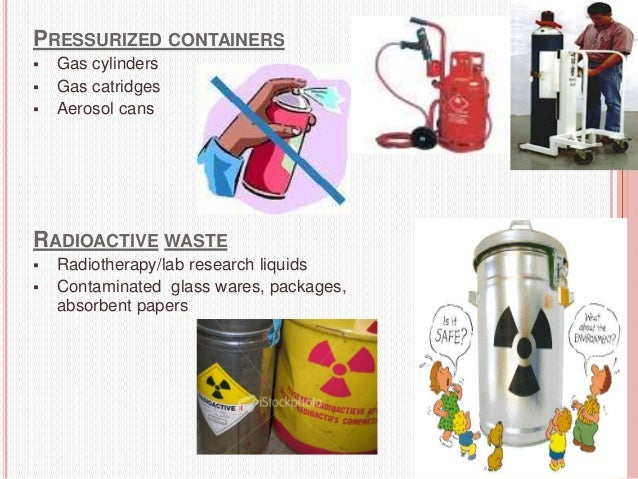 HOSPITAL WASTE DISPOSAL 21  Hospital waste management is a part of hospital hygiene and maintenance activities. In fact o...