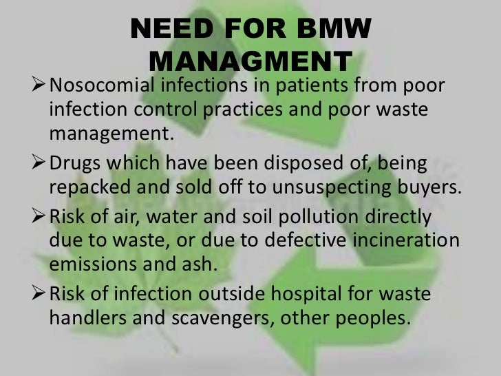 Biomedical Waste Management Ppt Final1