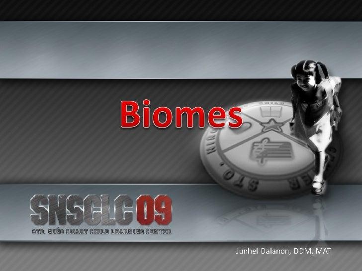 Biomes Slide 1
