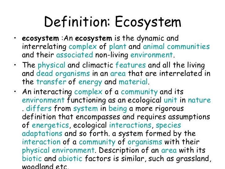 Biomes  U0026 Ecosystems