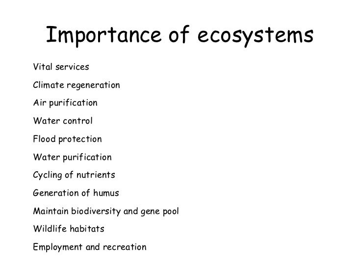 Biomes & Ecosystems