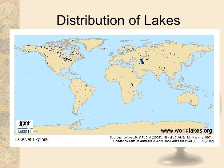 Biomes freshwater distribution of lakes 25 gumiabroncs Choice Image