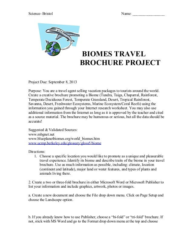 biome travel guide