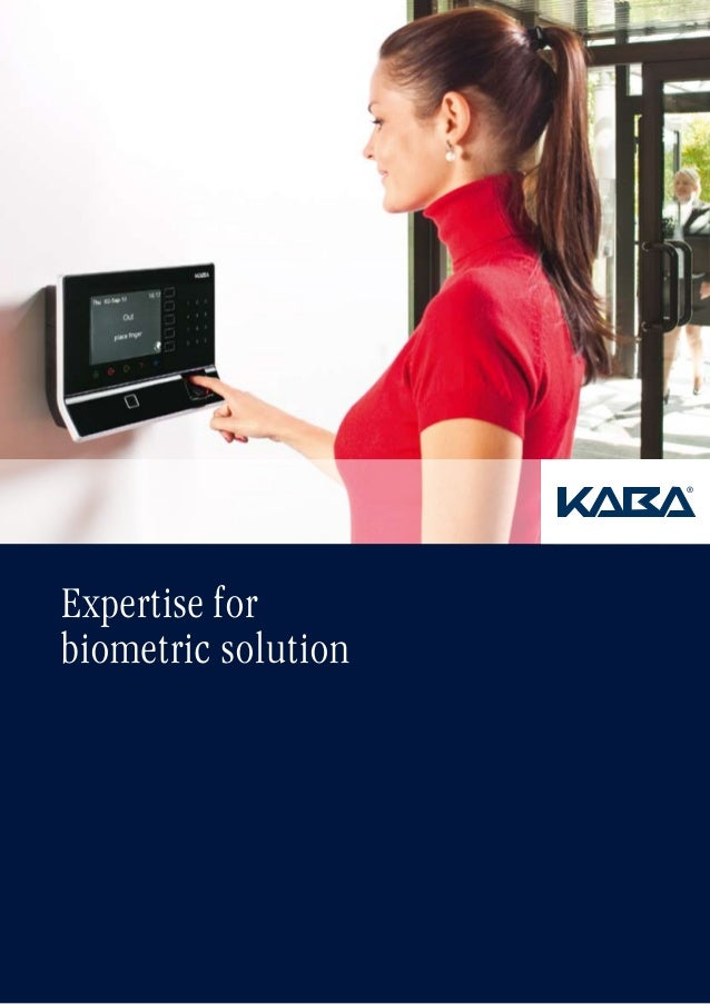 Expertise for biometric solution