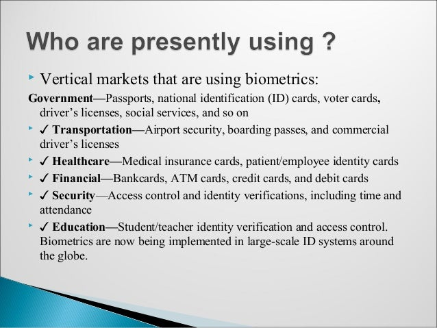 What are the Advantages & Disadvantages of Biometric Identification?