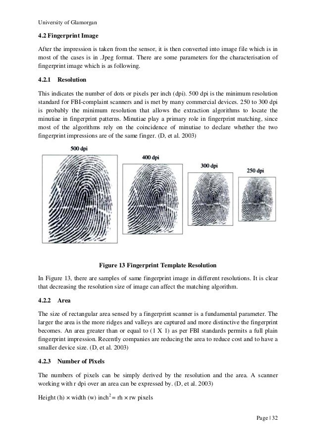 fingerprint biometrics vulnerabilities