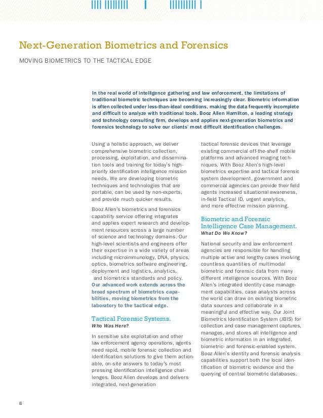 Next-Generation Biometrics and Forensics Slide 2