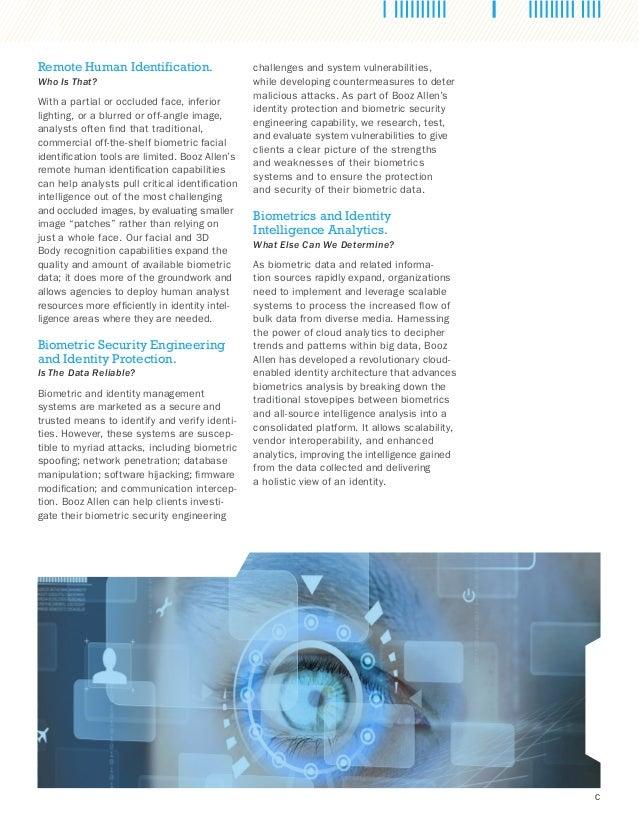 Next-Generation Biometrics and Forensics Slide 3