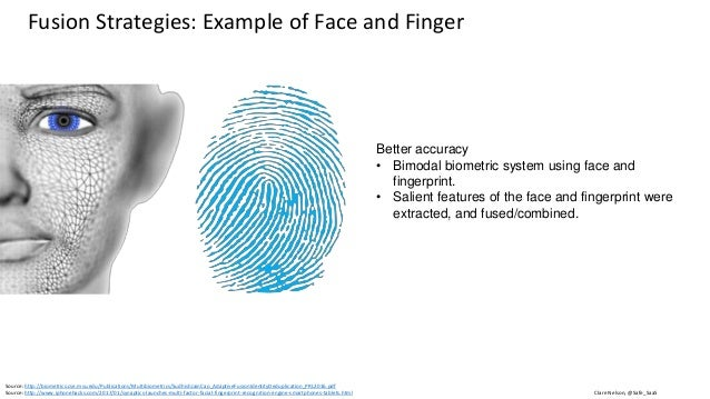 Clare Nelson, @Safe_SaaSSource: http://biometrics.cse.msu.edu/Publications/Multibiometrics/SudhishJainCao_AdaptiveFusionId...