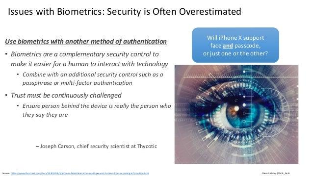 Graphic: http://www.idownloadblog.com/2013/08/05/biometric-expert-talks-fingers/ The Spoofing Problem