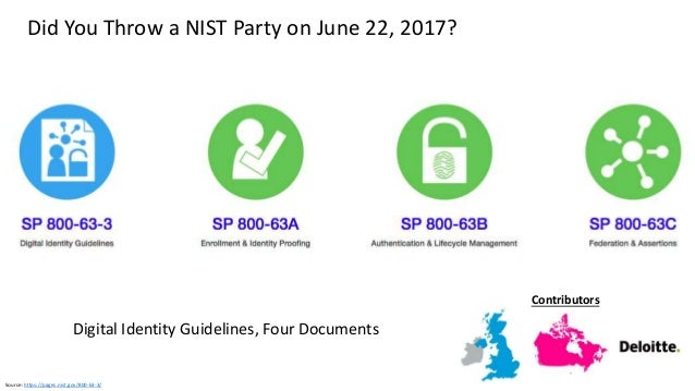 Source: https://pages.nist.gov/800-63-3/sp800-63b.html Graphic: http://www.oulu.fi/infotech/annual_report/2013/cmv NIST Up...