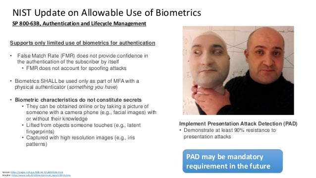 Clare Nelson, @Safe_SaaS Question: Store Biometrics on Device or Server, Cloud? Split? Source: Webinar by Forrester and No...