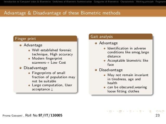 Biometric seminar proma