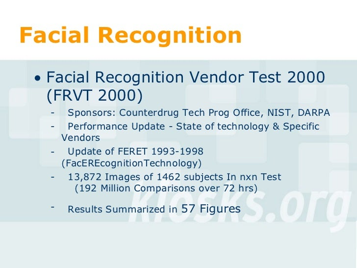Facial recognition limitations