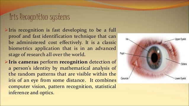 an introduction to iris recognition as an emerging biometric technology Iris recognition emerging as preferred biometrics technology biometrics as a whole is growing popular because it is unlikely for such information to be falsified may 11, 2016 techdecisions staff leave a comment.