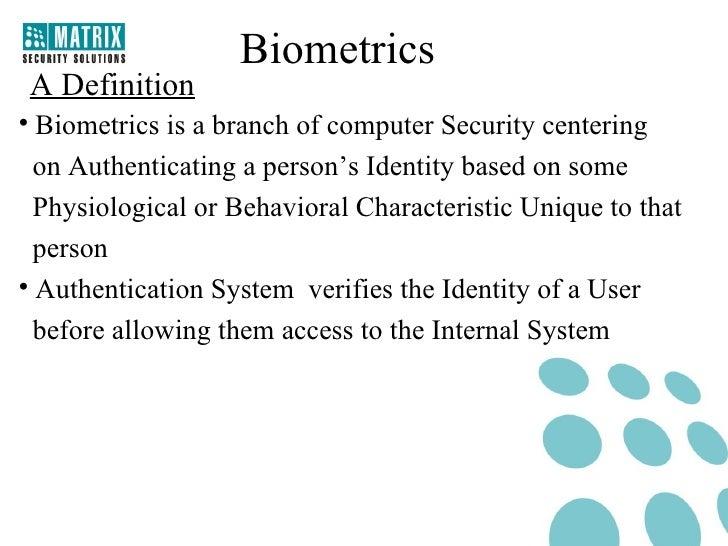 Biometrics Technology1