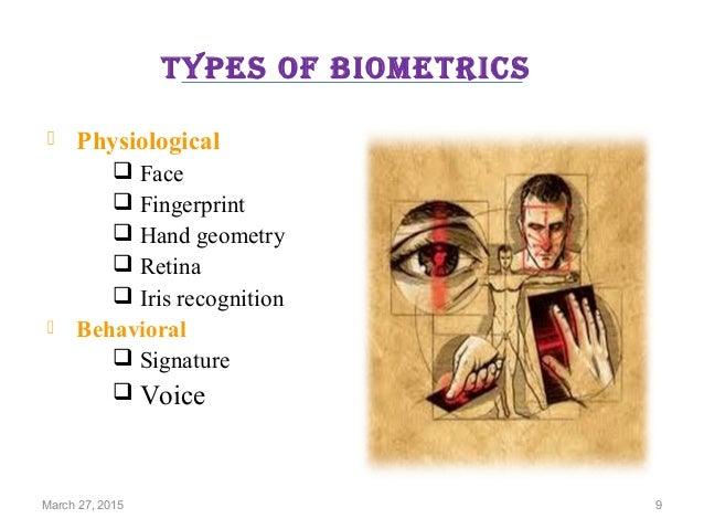 Biometrics Technology Intresting PPT