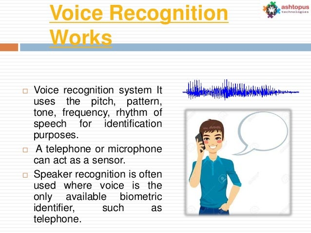 ImageSpace - How Voice Recognition System Works | gmispace com