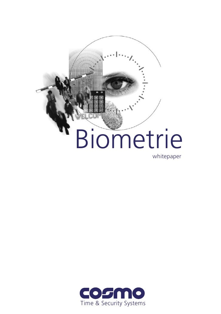 Biometrie                 whitepaper     Time & Security Systems