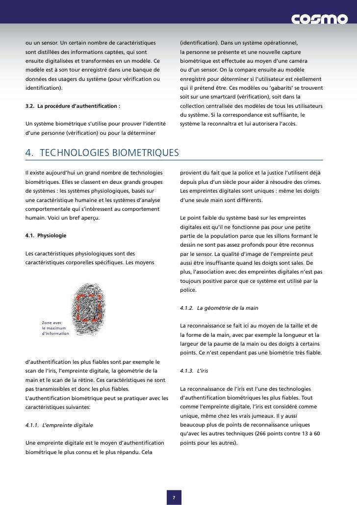 ouunsensor.Uncertainnombredecaractéristiques              (identification).Dansunsystèmeopérationnel, sontdi...